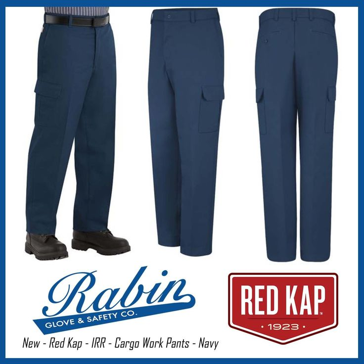 New  Red Kap  IRR  Cargo Work Pants  Navy