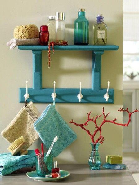regal deko in koralle t rkis regale selbst bauen. Black Bedroom Furniture Sets. Home Design Ideas