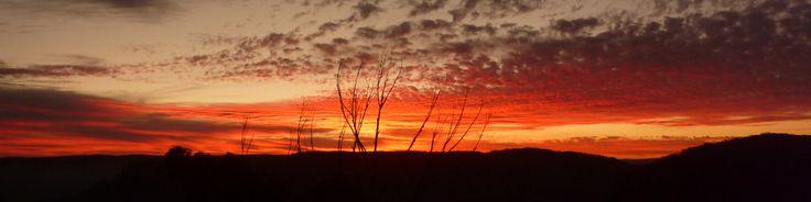 Blue Mountains Sunset, Katoomba