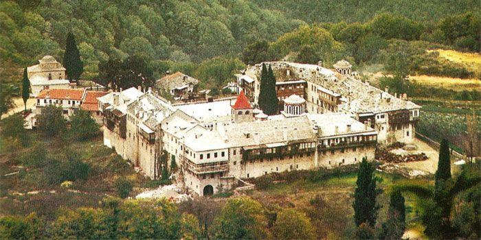 VISIT GREECE  Monastery of Filotheou in #Athos #Macedonia #Greece