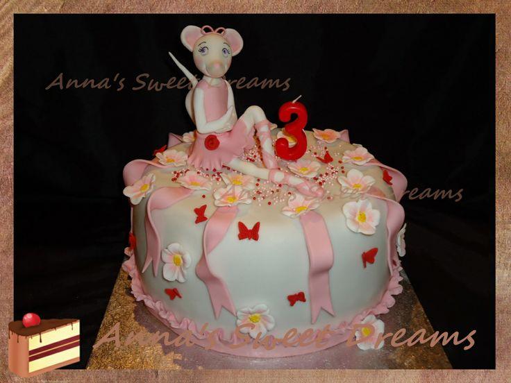 Торт Ангелина балерина Ballerina cake tutorial