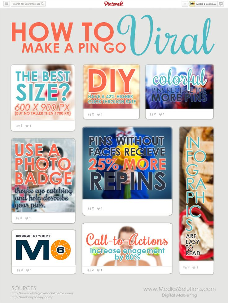 How to Make a Pin Go VIRAL http://media6solutions.com/how-to-make-a-pin-go-viral/ #PinterestTips #PinterestExpert