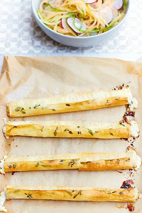 Recipe: Baked Goat's Cheese Cigars