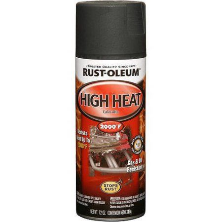 Rust-Oleum High Heat Flat Spray Paint                              …