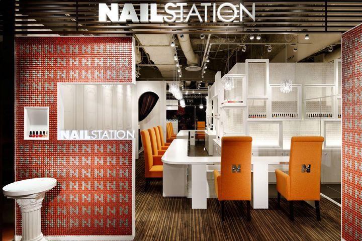 Nail Station by Ichiro Nishiwaki, Osaka – Japan