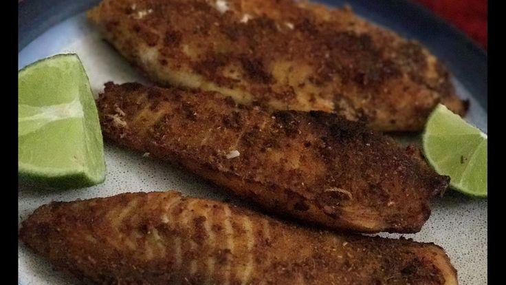 How to bake Tilapia|| Tilapia fish fry 🐟🐟🐟