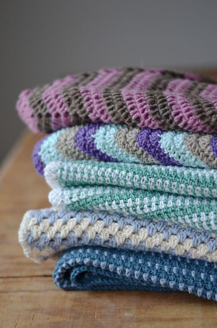 Virkade filtar - Crochet blankets ~ Diagnos:Kreativ