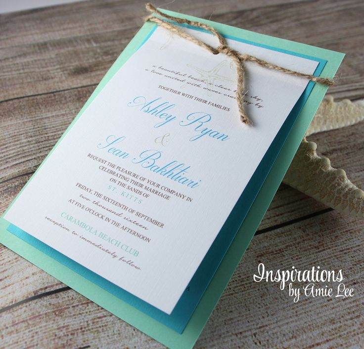 beach wedding invitation examples%0A Rustic Beach Wedding Invitations  Beach wedding  Wedding Invitations