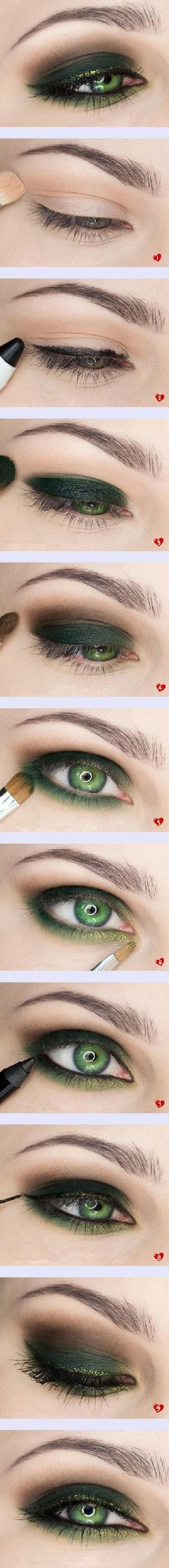 Make up for green eyes - The place where you craft your beauty..