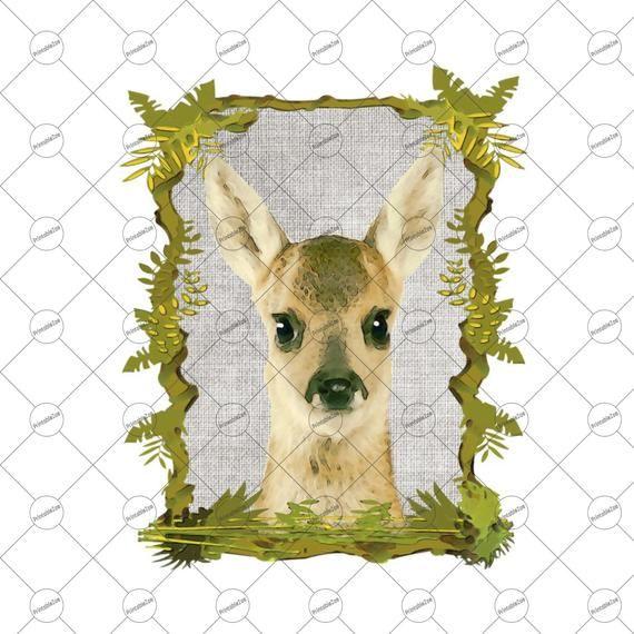 Baby Deer Sublimation Designs Download Baby Deer Clipart Baby Deer Png Baby Animal Clipart Cricut Downloads Downloads W Animal Clipart Baby Animals Baby Deer
