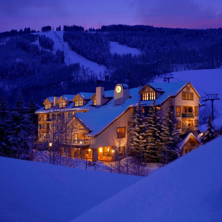 Ski Resorts Hotels In Vail United States Located Beaver Creek