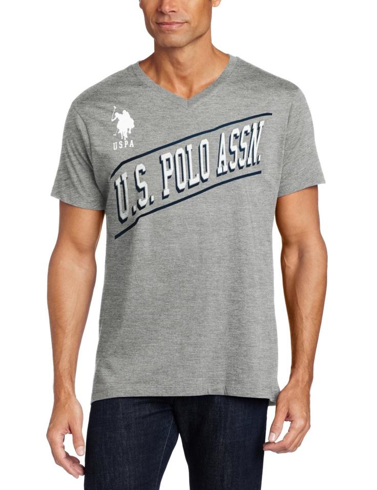U.S. Polo Assn. Men's Short Sleeve T-Shirt with Diagonal Logo > Price: