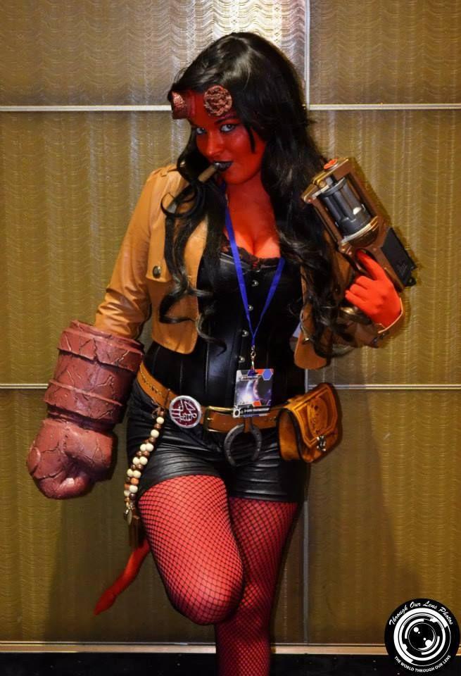 female hellboy cosplay | Cosplays de sexta #15 – Ciclope, Hell Boy, Ariel e muito mais!