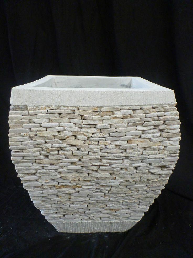1000 Images About Garden Stone Pots On Pinterest