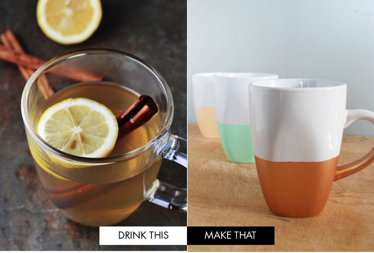 drink this, make that: hot toddy and #diy mugs