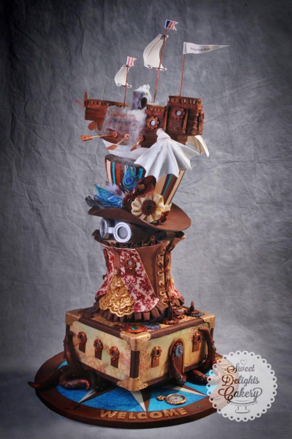 ICES Michigan Sugar Art Showcase - Grand Price Winner 2014