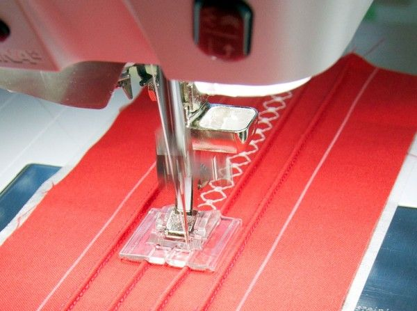 Learn how to use the Pintuck foot and accessory while sewing a pretty Pintucked headband with this tutorial.