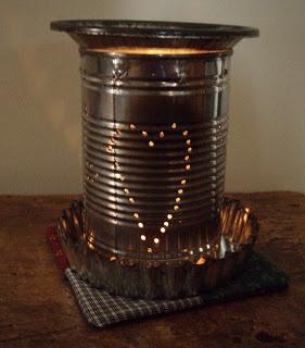 tin can tart warmer