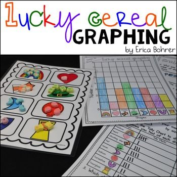 Lucky Cereal GraphingThis FREE sorting, graphing, tallying, and analyzing data activity was created to use with Lucky Charms Cereal.  It is common core aligned for first and second grade. Happy Teaching!-Erica Bohrer