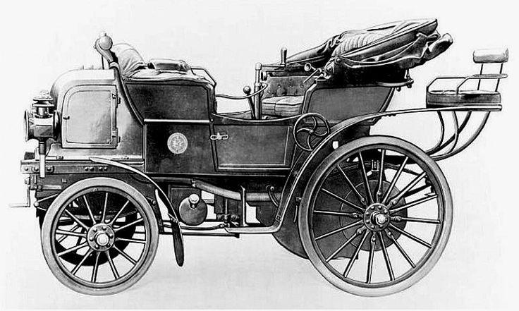 Daimler Phoenix, voiture routière de 1897 ✏✏✏✏✏✏✏✏✏✏✏✏✏✏✏✏ IDEE CADEAU / CUTE GIFT IDEA  ☞ http://gabyfeeriefr.tumblr.com/archive ✏✏✏✏✏✏✏✏✏✏✏✏✏✏✏✏