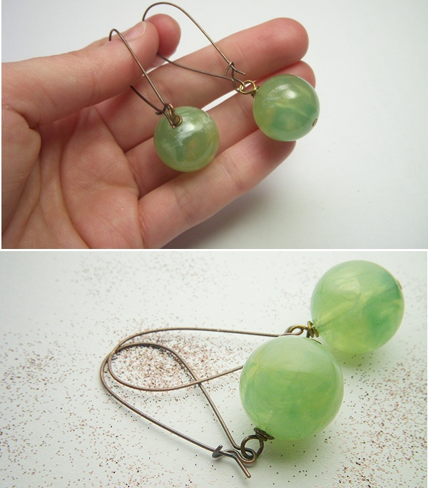 diy simple earrings