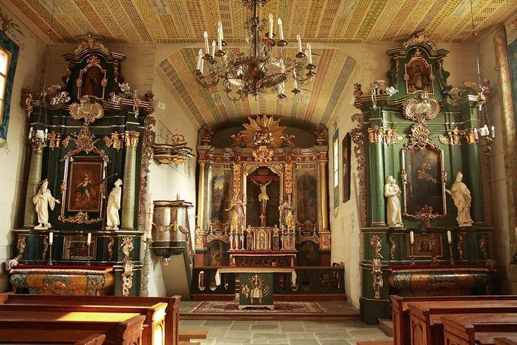 Kościół rzymskokatolicki z Łososiny Dolnej