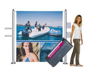 Präsentationswand für Messen und Events  Highline Fabric Elegante Design - Präsentationswand für Ihren Auftritt - Expo Display Service