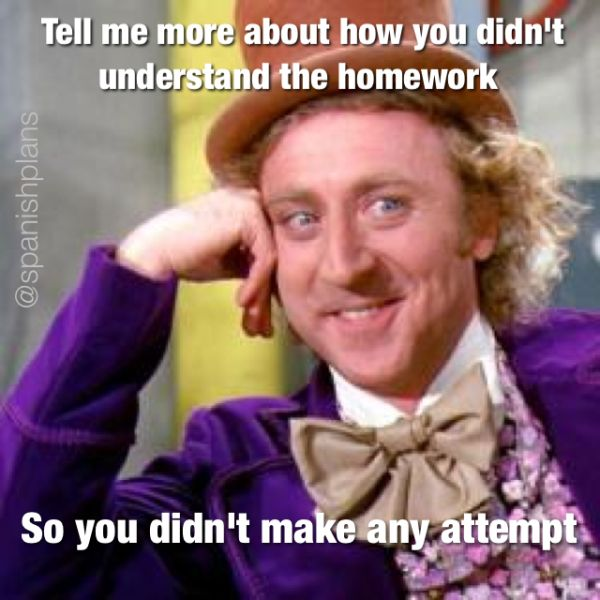 Year 3 Homework Project Meme - image 5