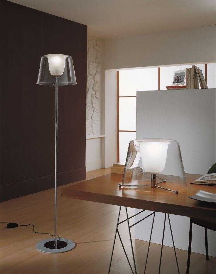 #Conca an elegant and design #FloorLamp by Selène Illuminazione