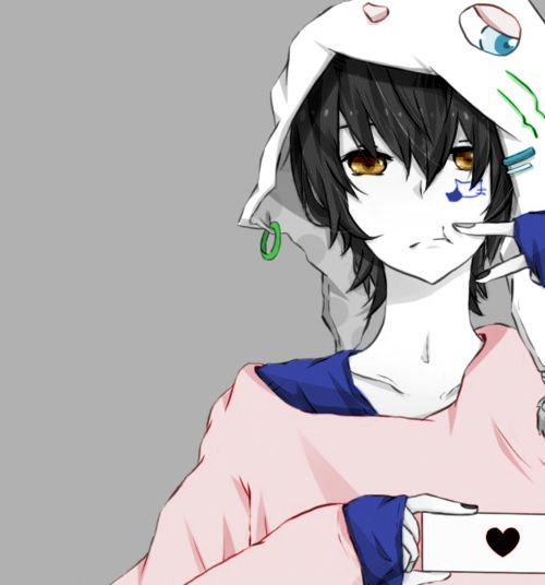 #animeboy #coloredbyme #ToukoGWhiteGraphic   Ita: Se la prendi, mettere i crediti.. grazie. Eng: If you take it, put the credits.. thanks.