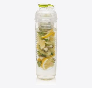 Branded Fruit Infuser Bottle. Tritan Infuser 500ml