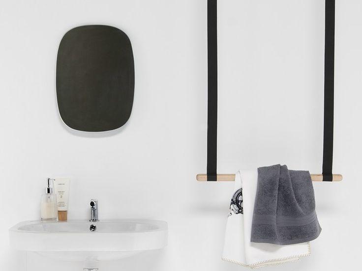 GAMBOL Porta asciugamani a barra by EVER by Thermomat Saniline design Monica Graffeo