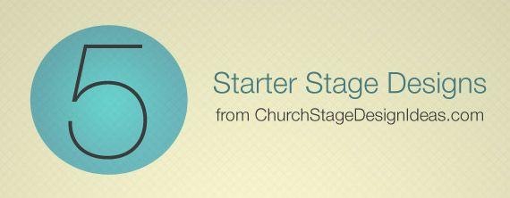 Free E-Book – Stage Starter Kit
