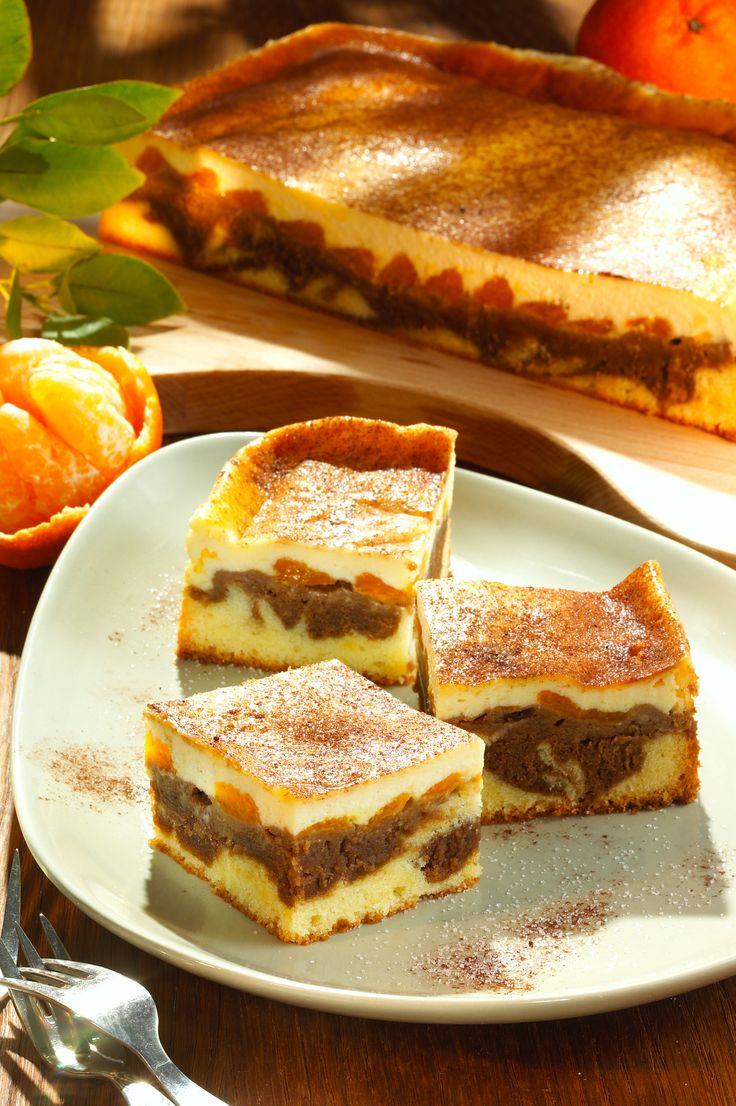 Marmorierter Mandarinenkuchen