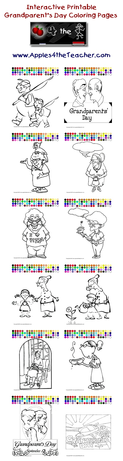 1000 images about grandparents day ideas on pinterest for Virtual coloring pages