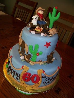 Boys Th Country Bday Cake