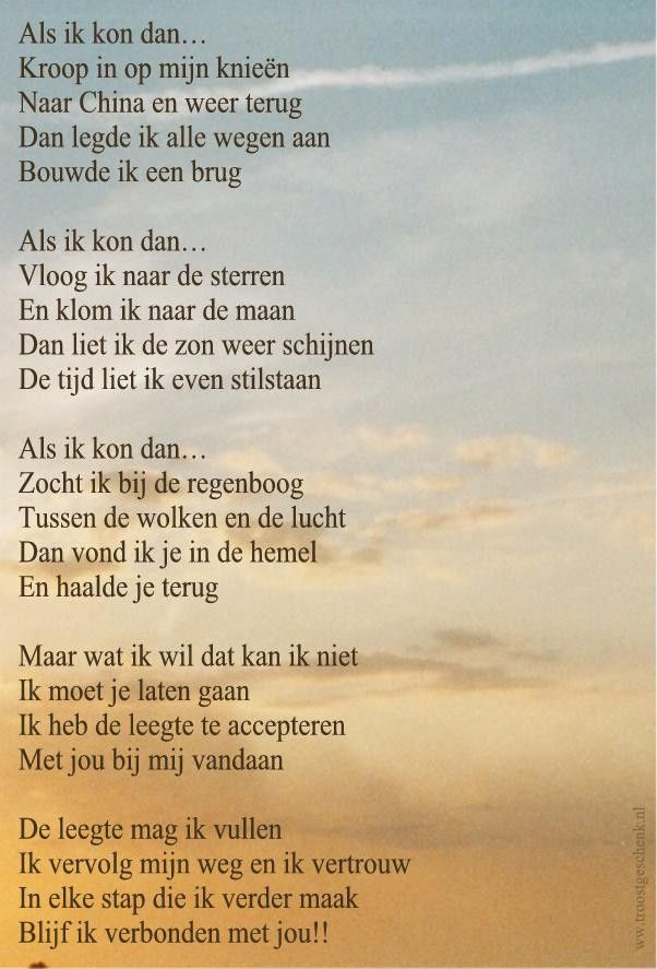 Als ik kon dan... www.troostgeschenk.nl
