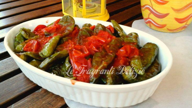 Peperoncini verdi al filetto di Pomodoro | Le Fragranti Delizie