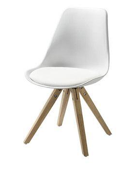 Barcelona stol, hvid