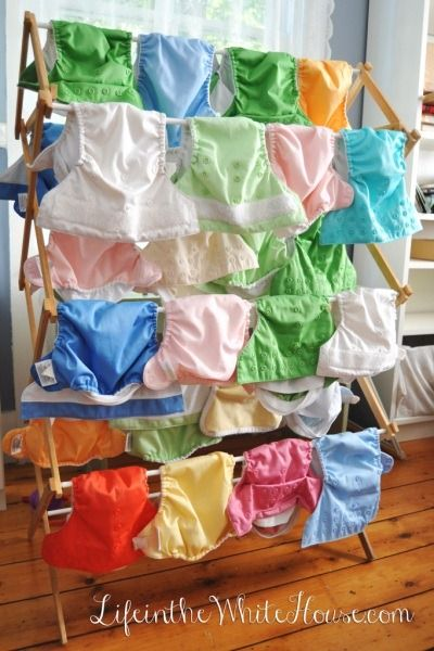 cloth diaper drying rack, I would like this if it will fit in my laundry room...
