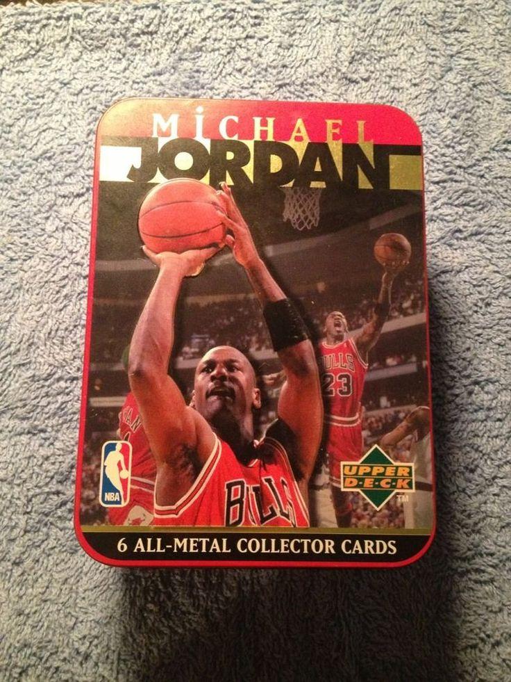 1996 upper deck michael jordan 6all metal collector cards
