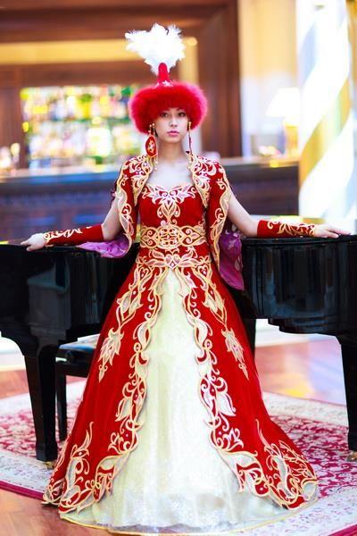 Казахский национальные свадебные костюмы для мужчин
