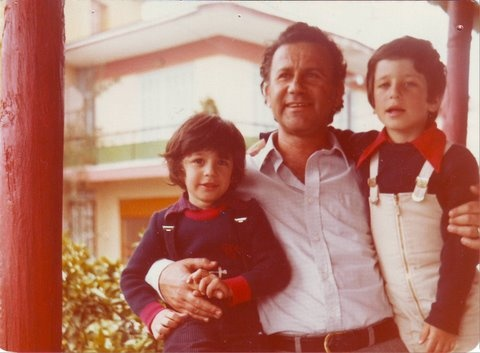 brother, father & me