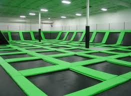 empty trampoline gym - Google Search