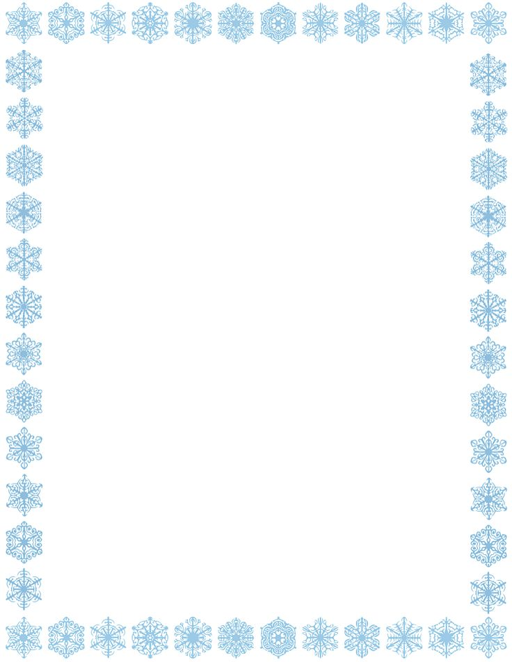 736 best Nástěnky images on Pinterest Clip art, Tags and Illustrations - snowflake borders for word