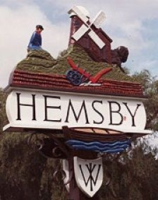 Hemsby, Norfolk town sign
