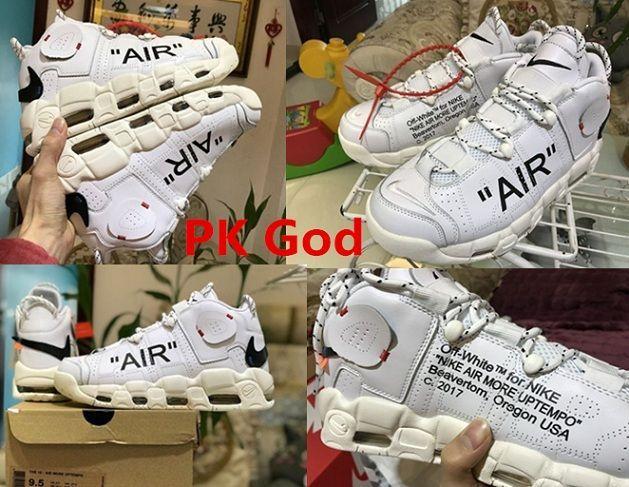 Original Off White X More Uptempo Sneakers Cheapest Pk God Legit