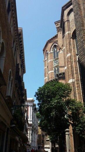 Behind Santa Mariadei Frari