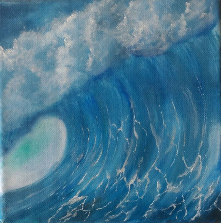 Buy Wave #008, Oil painting by Gianluca Cremonesi on Artfinder. Discover thousands of other original paintings, prints, sculptures and photography from independent artists.