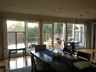 Extra long curtain rods for sunroom